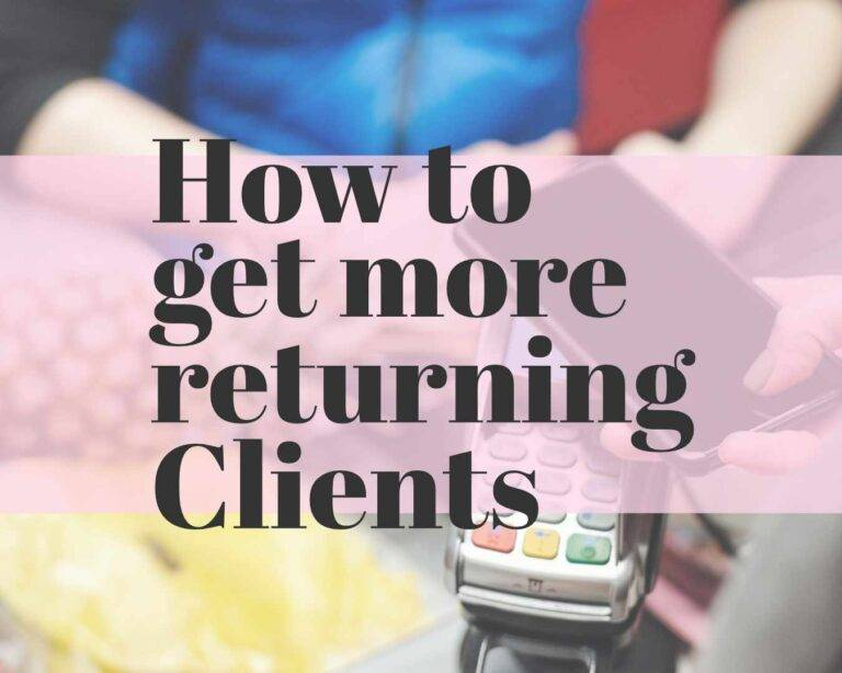 how to get more returning clients