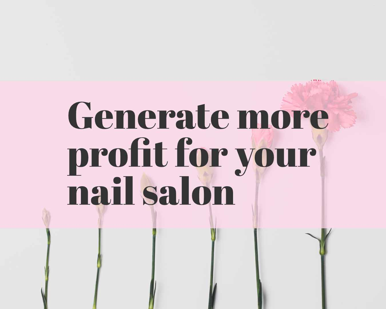 generate more profit for your salon