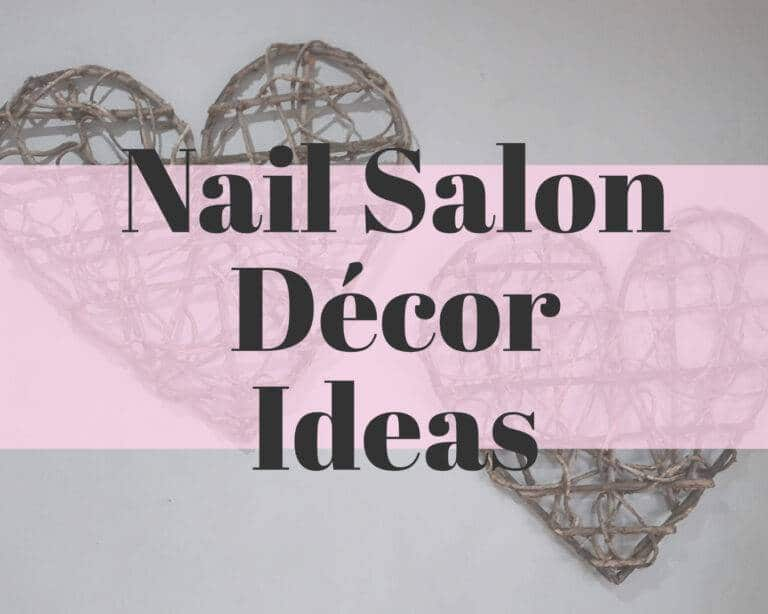 nail salon décor ideas