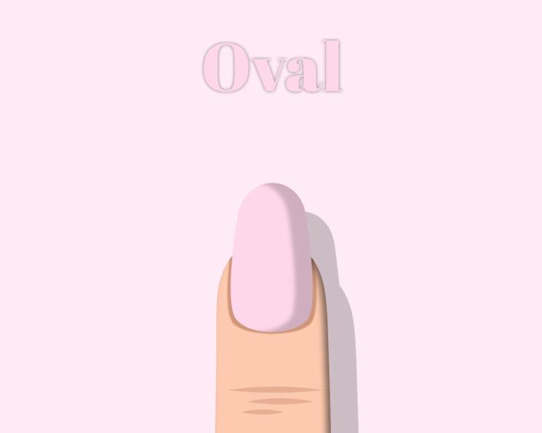 Nail Shape Oval
