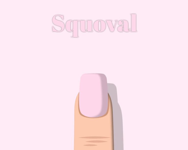 Nail Shape Squoval