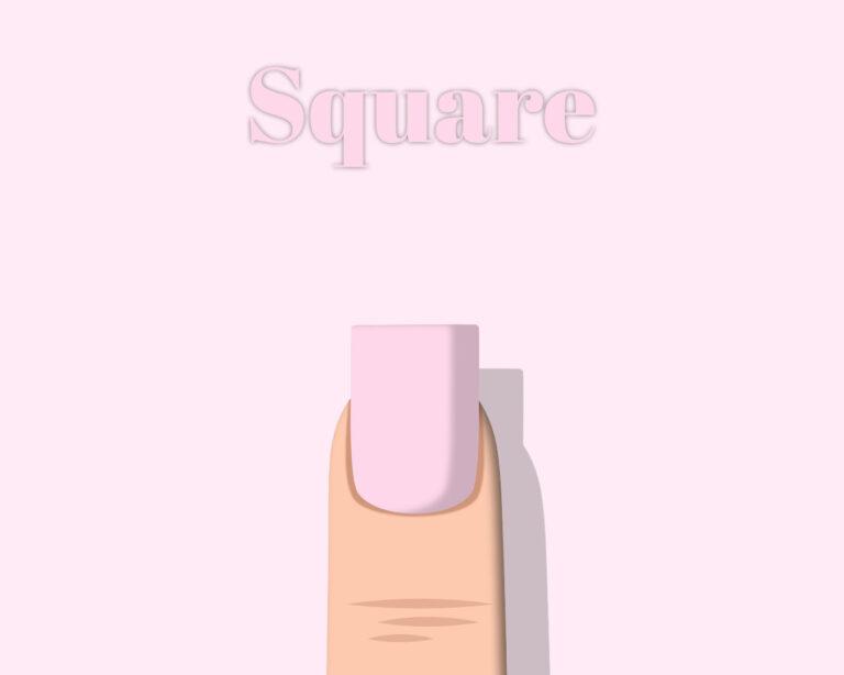 nail Square shape